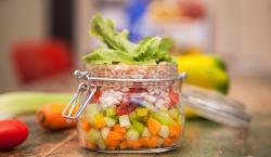 8 maneras de usar los frascos en la cocina