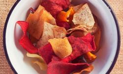 Chips de verdura, como hacerlos en casa