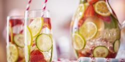 Cómo preparar aguas aromatizadas
