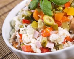 Cómo preparar la mejor ensalada de arroz