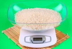 ¿Cuánto arroz es una porción?