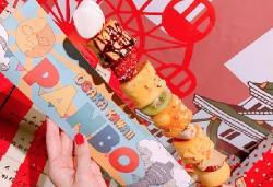Desde Japón llegan los Kushi Pancake
