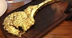 Es comestible el bistec de oro de Ribery?
