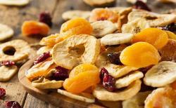 Frutas y verduras deshidratadas: el snack perfecto