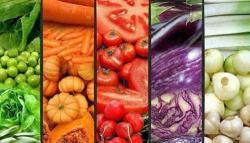 Frutas y verduras: los colores de la salud