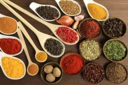 Ingredientes de la cocina india
