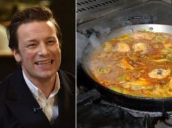 La paella de Jamie Oliver enfurece a España