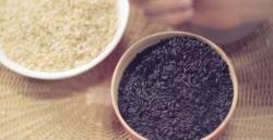 Las diferencias entre el arroz blanco y el arroz negro