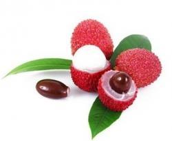 Litchi, la exótica fruta china