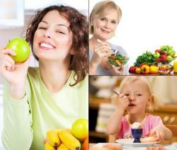 Los alimentos que necesitamos en cada etapa de la vida
