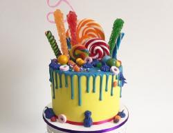 Todos locos por las drip cake!