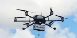 Uber Eats usa un dron para sus entregas