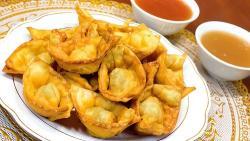Un antipasto asiático y crocante: cómo hacer wantán fritos
