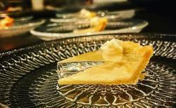 Un pastel de calabaza... transparente