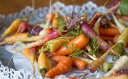 Zanahorias: alternativas a las de color naranja