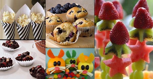 Un buffet natural para los cumplea os infantiles - Comidas para un cumpleanos ...