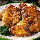 Alitas de pollo al brandy