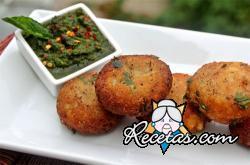 Aloo Tikki (albóndigas de patatas)