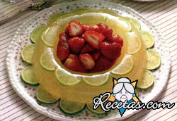 Anillo cristalino de limón