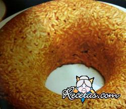 Anillo de arroz con canela y jengibre