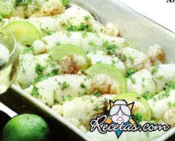 Arrolladitos de lenguado en salsa verde