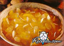Batatas en almibar