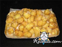 Buñuelos con dulces