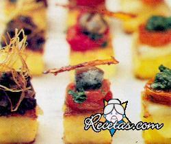 Bocaditos de polenta