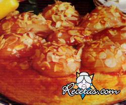 Budín de arroz con peras