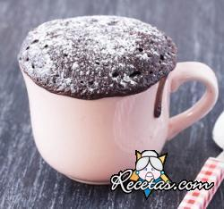 Budín en taza (Mug cake)