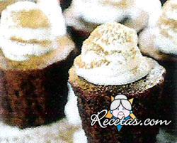 Budincitos de chocolate y menta