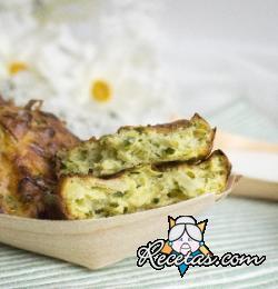 Buñuelos de calabacín y cebolla
