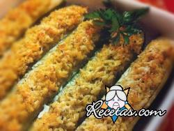 Calabacines rellenos de arroz
