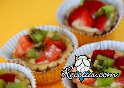 Canapecitos de frutas