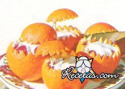 Canastitas de naranja