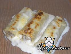 Canelones de Patata