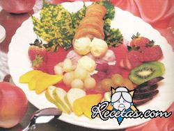 Cañoncitos con frutas