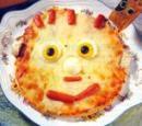 Pizza para divertir a los niños