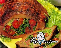 Carne rellena