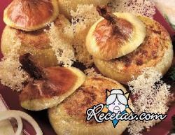 Cebollas rellenas al horno