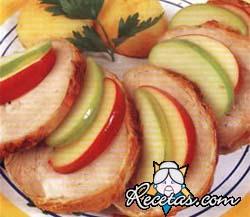 Cerdo en salsa de manzana