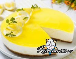 Cheese cake de limón sin cocción