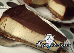Cheesecake al chocolate