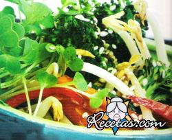 Chop suey de vegetales