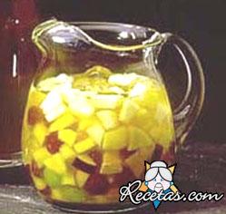 Clericot con refresco de limón