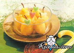 Compota de peras