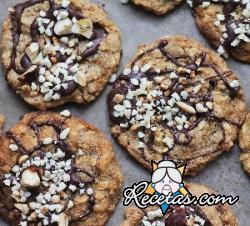 Cookies veganos de chocolate