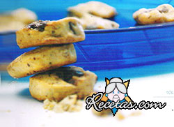 Cookies de coco y chocolate
