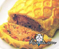 Coulibiac (pastel de pescado)