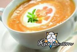 Crema de zanahoria y patatas